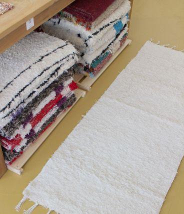 Tapis 65 x 180 cm - Blanc
