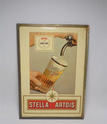 Panneau publicitaire Stella Artois