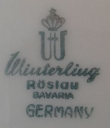 Service de Table Porcelaine de Bavière