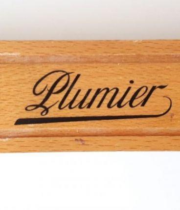 Plumier d'écolier en bois