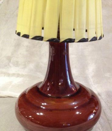 Lampre céramique Vintage