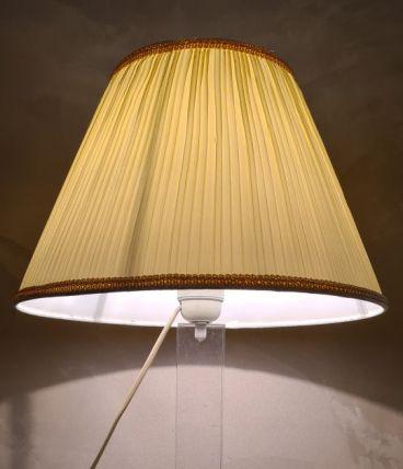 lampe plexiglas 1960 style et dans le gout de david lange 46