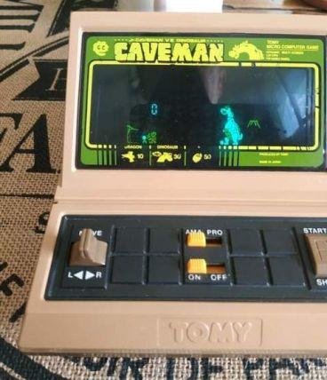 Tabletop Caveman de Tomy année 1983