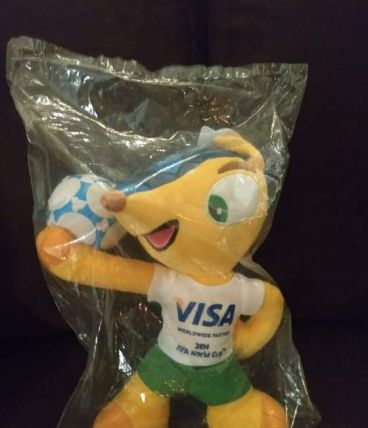 Fuleco mascotte coupe du monde football Brésil 2014
