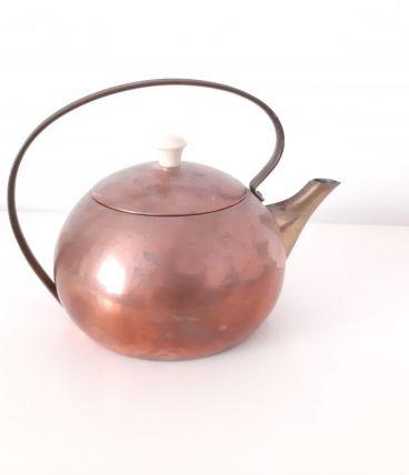 THEIERE BOUILLOIRE cuivre laiton