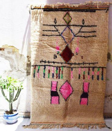 247x152cm Tapis berbere marocain