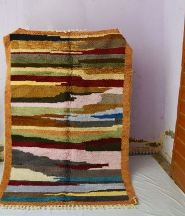 250x155cm Tapis berbere marocain