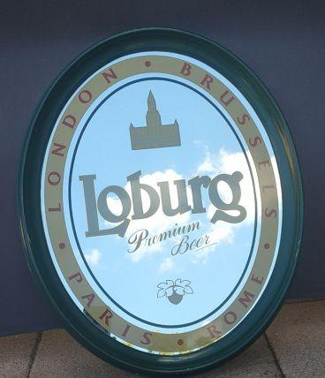 Miroir bière LOBURG