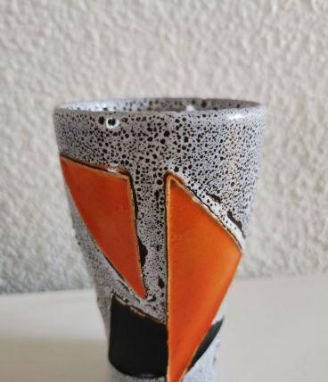 Vase Verre Fat Lava Rétro Vintage
