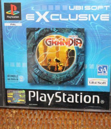 Jeu Sony Playstation PS1 Grandia Complet