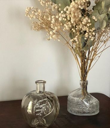 Vase soliflore en forme de pomme