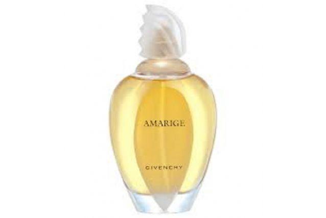 Flacons de parfum vides AMARIGE de Givenchy