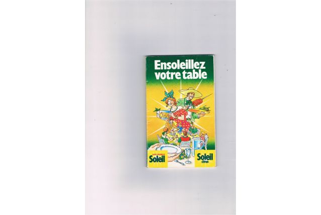 Livre ensoleillez votre table