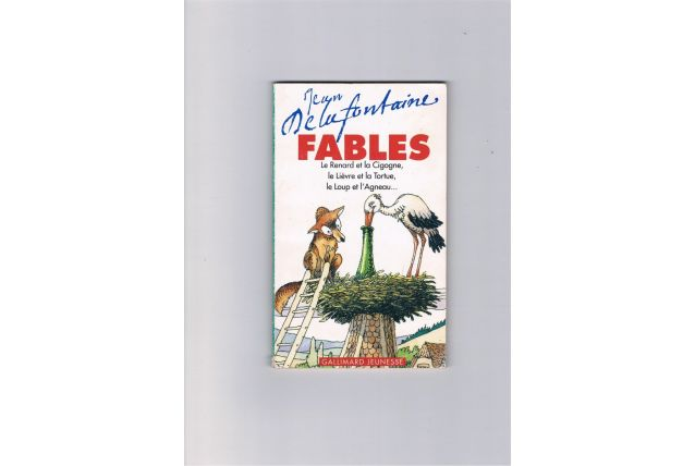 Livre fables Jean Delafontaine