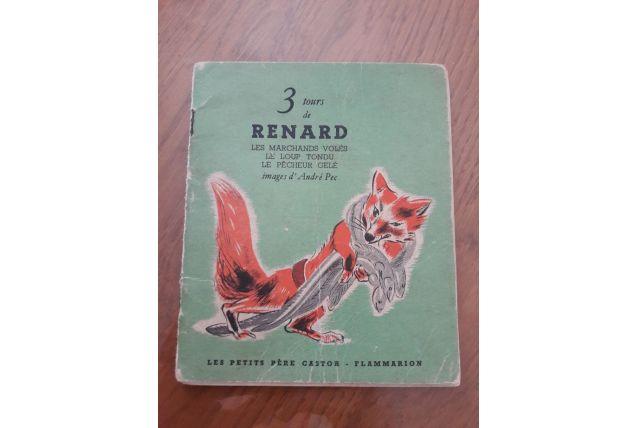 Livre 3 tours de renard 1944