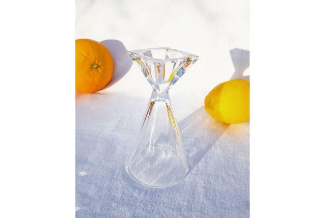 Bougeoir cristal
