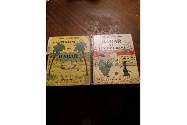Livres de babar