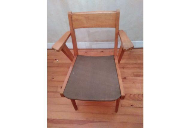 fauteuil bridge vintage
