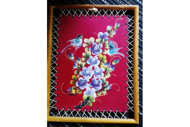tableau en soie