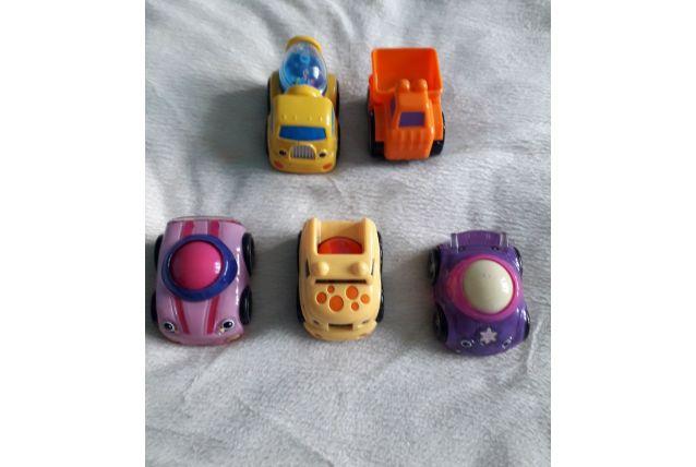 Lot de 5 voitures dont roll'N'Racers