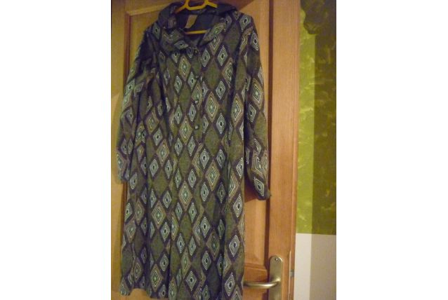 Robe hiver manches longues Vintage