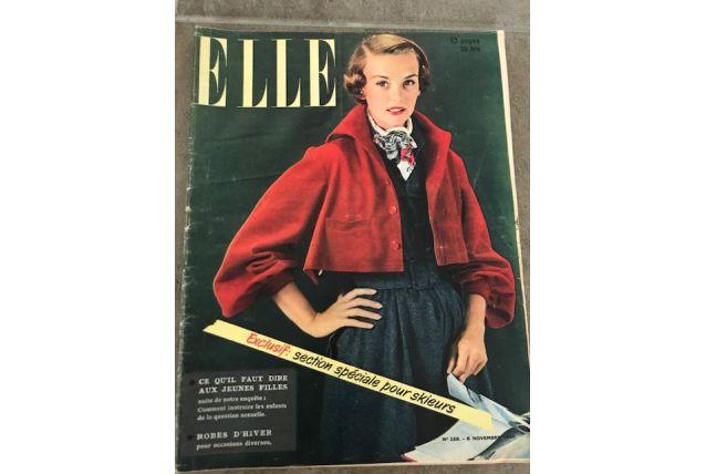 Magazine ancien ELLE 1950
