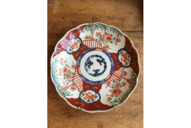1 assiette chinoise