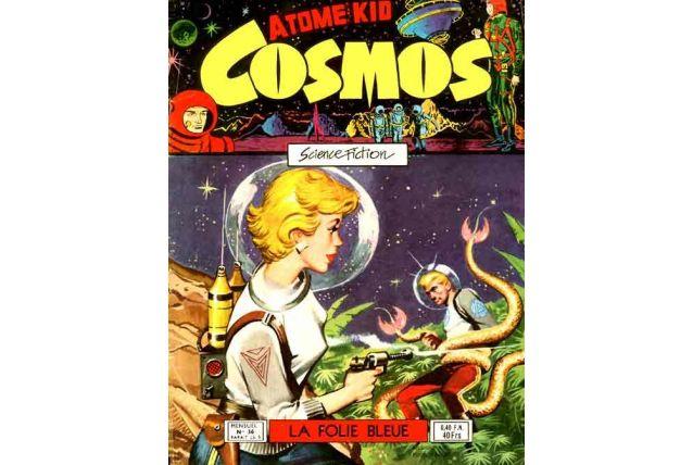 Atome Kid Cosmos N° 36 : La folie bleue