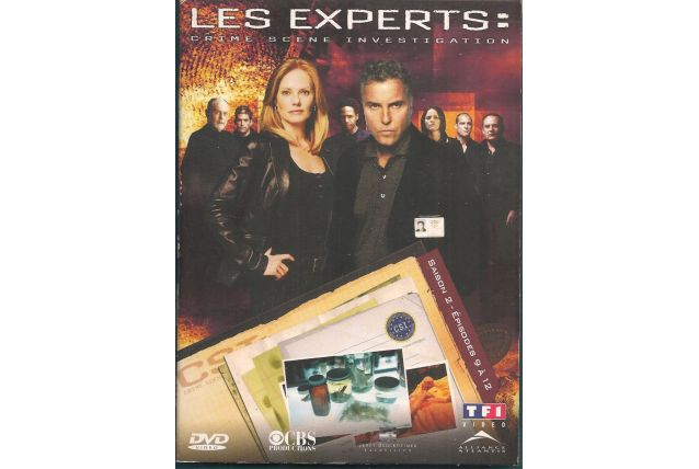 DVD - LES EXPERTS - SAISON 2 / EPISODES 9 à 12 - ZONE 2  - D