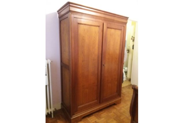armoire merisier
