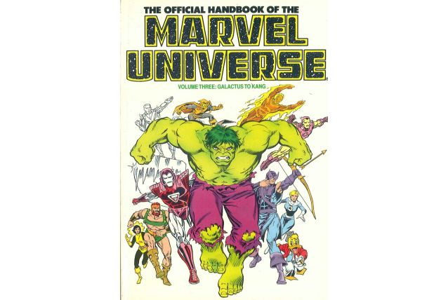 The Official Handbook of the Marvel Universe vol 3