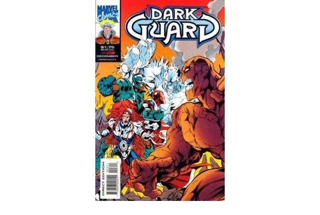 Dark Guard 3 Marvel Uk 1993 Direct Edition