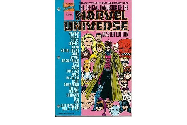 Official Handbook Of The Marvel Universe Master Edition n°21