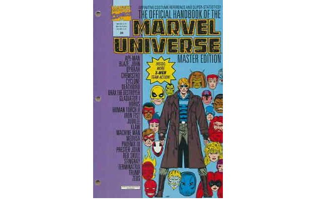 Official Handbook Of The Marvel Universe Master Edition n°24