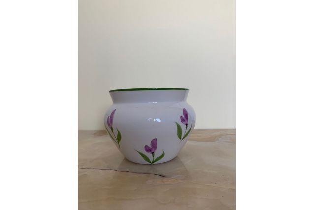 Petit cache pot à fleurs