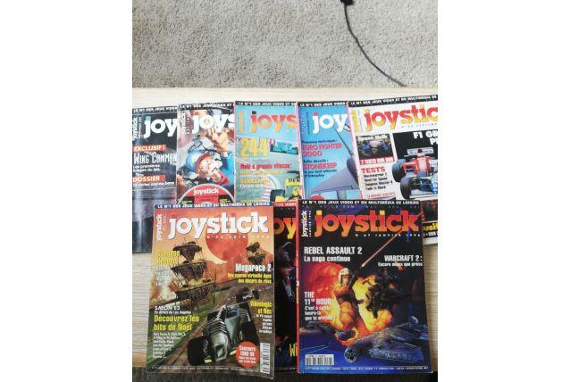 lot de magazines joystick