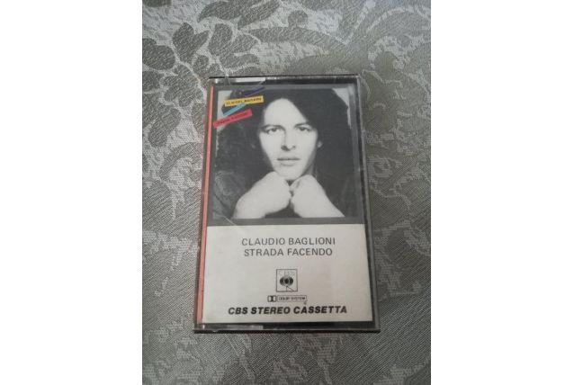 K7 audio — Claudio Baglioni - Strada Facendo