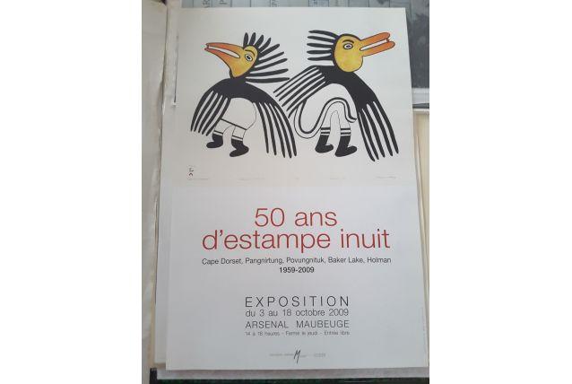 Ancienne affiche expo du musée