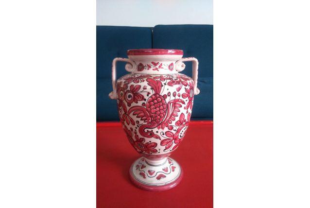 Vase céramique phoenix
