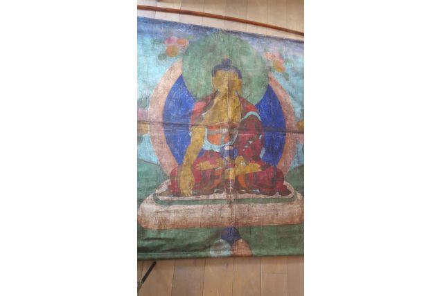 superbe toile de bouddha