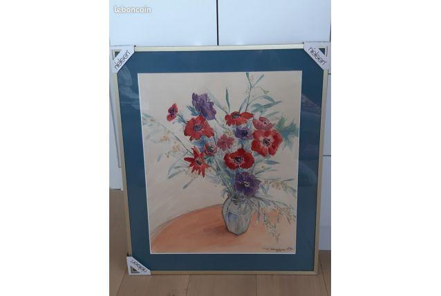 Jolie aquarelle fleurie