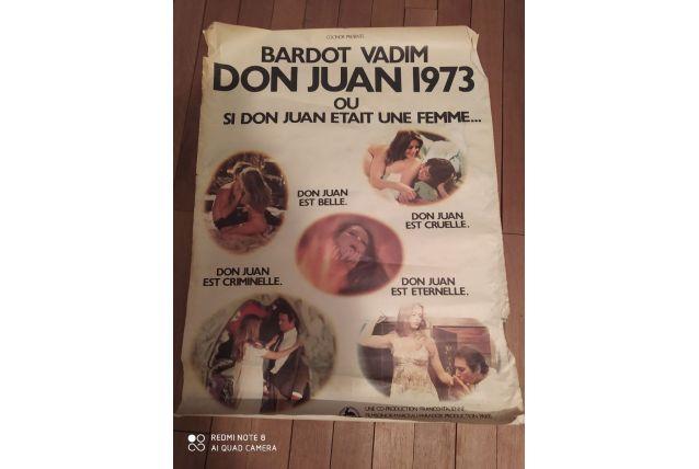 Affiche Brigitte Bardot don Juan 1973