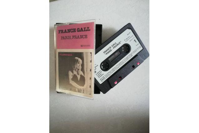 K7 audio — France Gall - Paris, France