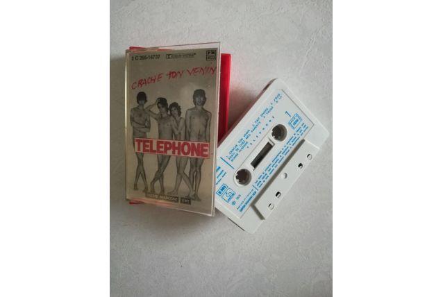 K7 audio — Telephone - Crache ton venin