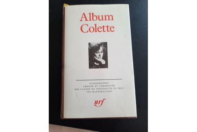 Album Colette pour La Pléiade
