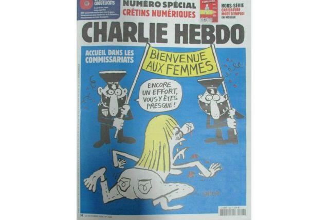 CHARLIE HEBDO N° 1426 de Nov 2019 FEMMES BATTUES ACCUEIL DAN