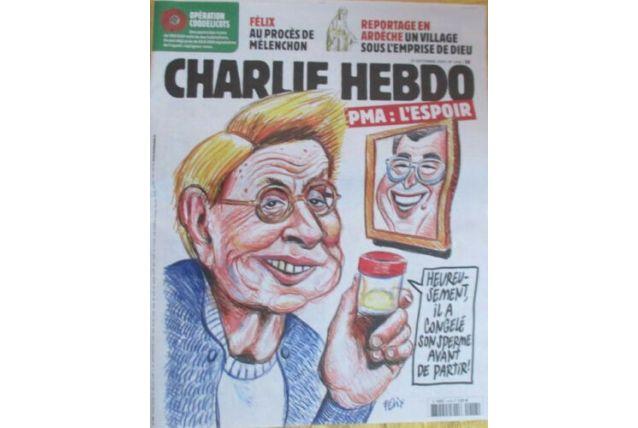 CHARLIE HEBDO N°1418    DU 25 SEPTEMBRE 2019 PMA :L ESPOIR