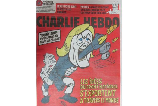 CHARLIE HEBDO N° 1391 de Mars 2019 NOUVELLE ZÉLANDE LE PEN F