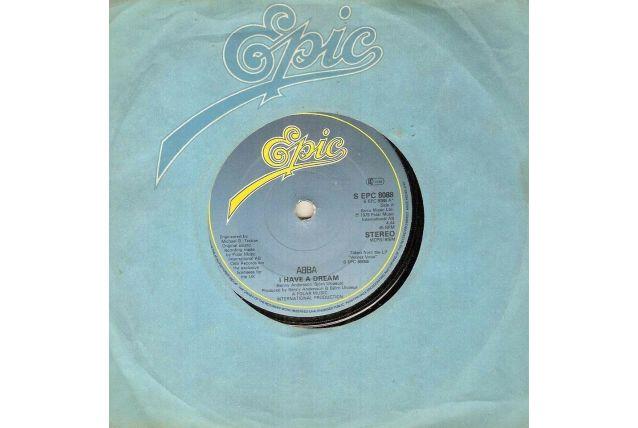 Vinyles 45T Abba import anglais 1979