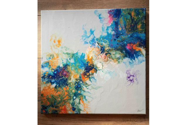 Tableau peinture abstraite